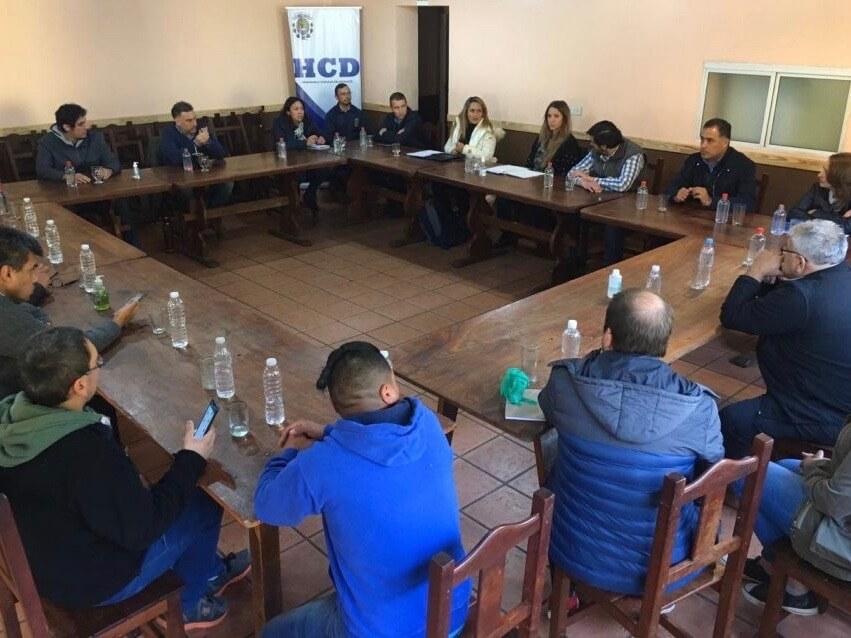 El Gobierno de Santa Cruz articula con los COE de Perito Moreno y Los Antiguos